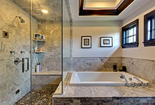316-Luthin-Oak-Brook - Master Bathroom View - Globex Developments Custom Homes