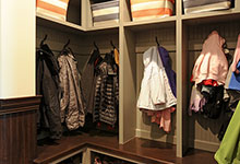 316-Luthin-Oak-Brook - Mudroom Shelves - Globex Developments Custom Homes