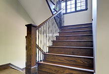 316-Luthin-Oak-Brook - Staircase Front View - Globex Developments Custom Homes