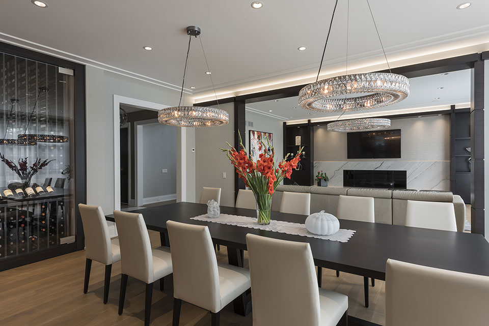 326-Country - Dinning-Room,-Table - Globex Developments Custom Homes