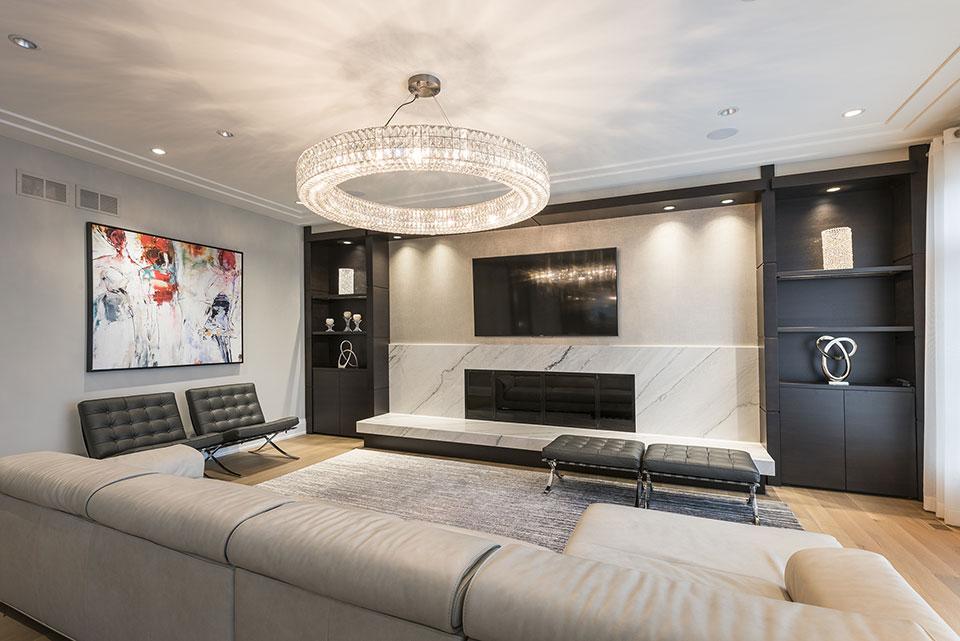 326-Country - Family Room - Globex Developments Custom Homes