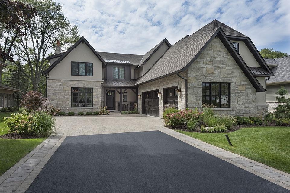 326-Country - Front Elevation - Globex Developments Custom Homes