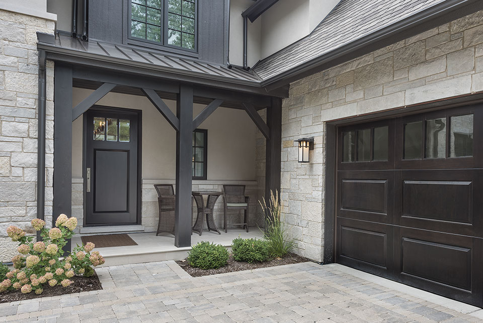 326-Country - House-Front-Entrance,-Entry-Door,-Garage-Door - Garage Door Gallery