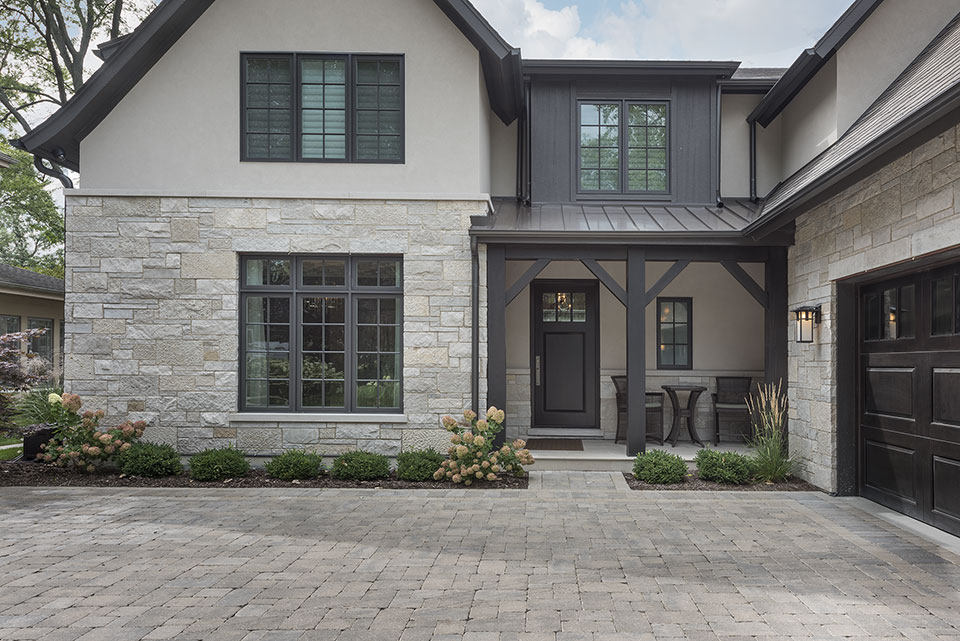326-Country - House Front Entrance, Entry Door - Globex Developments Custom Homes