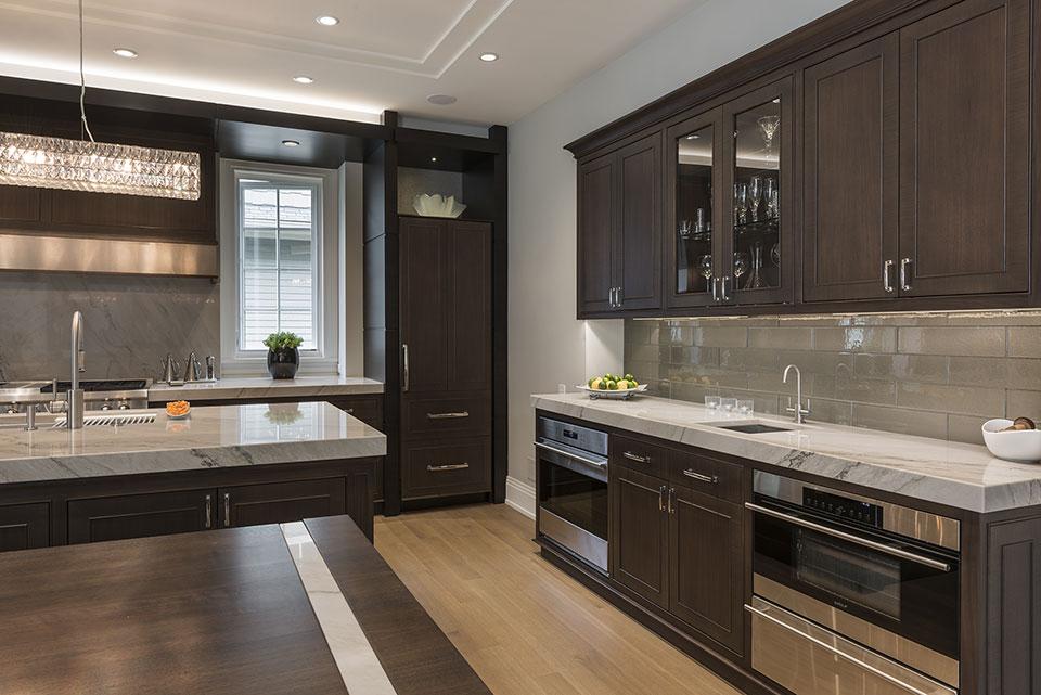 326-Country - Kitchen Cabinets - Globex Developments Custom Homes
