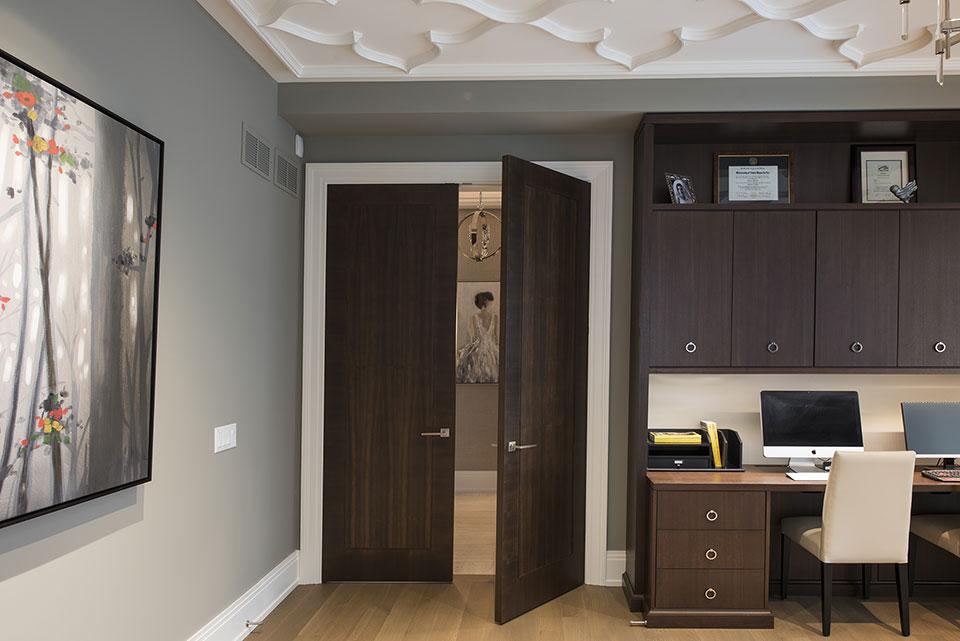 326-Country - Library Open Doors - Globex Developments Custom Homes