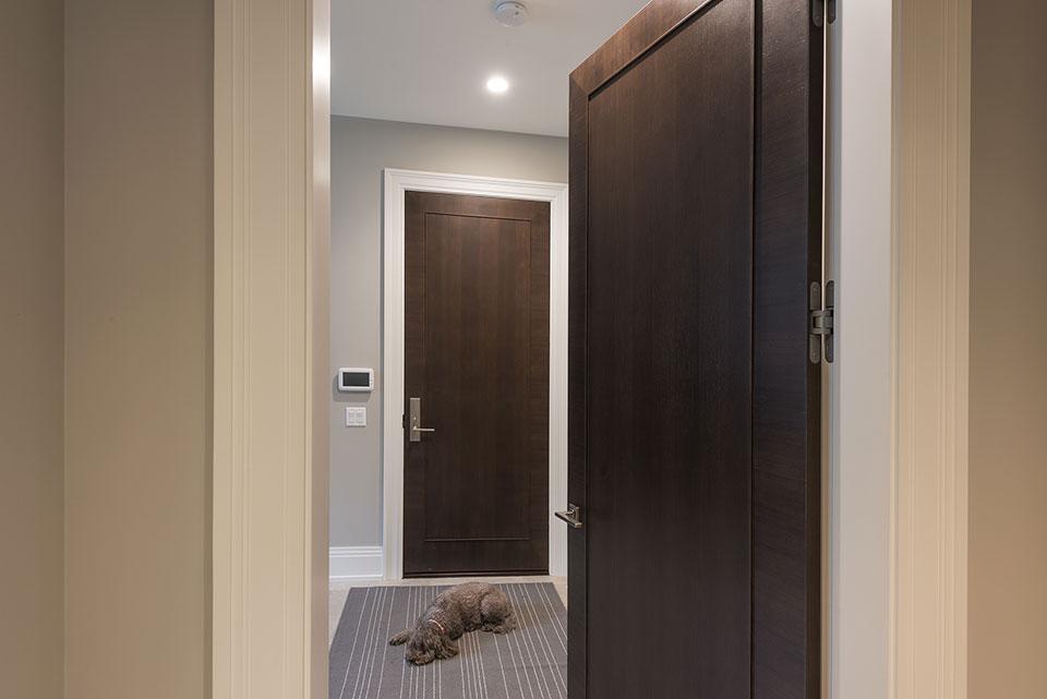 326-Country - Open Door to the Mudroom - Globex Developments Custom Homes