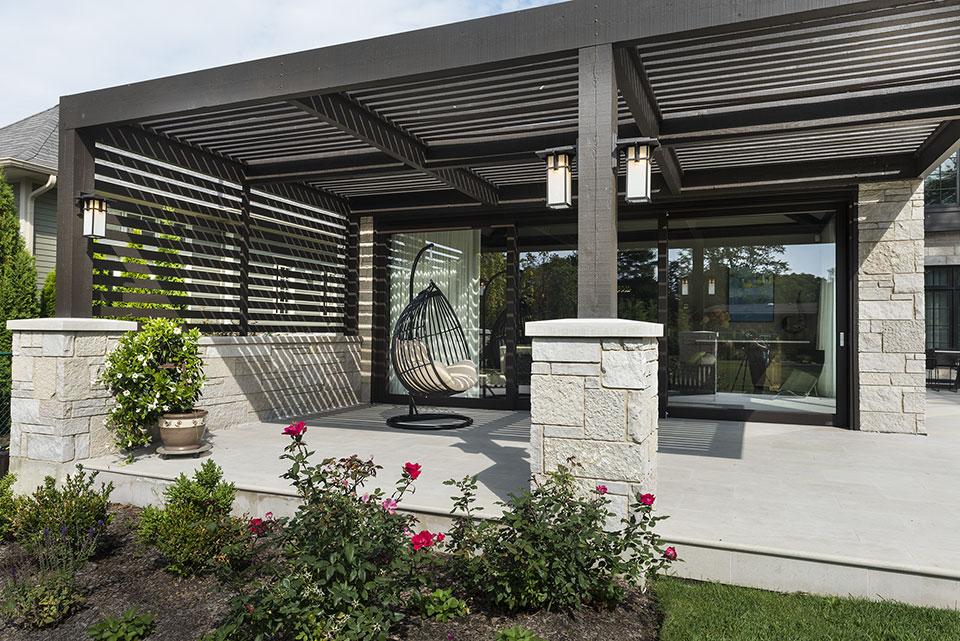 326-Country - Pergola - Globex Developments Custom Homes
