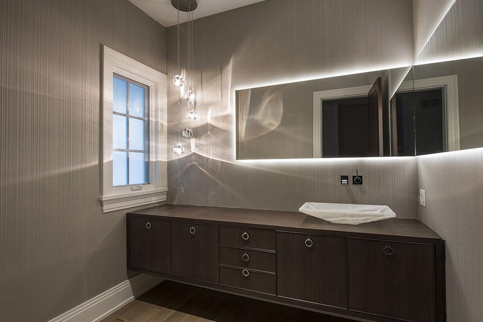 326-Country - Powder Room - Globex Developments Custom Homes