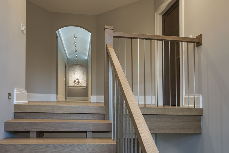 326-Country - Stairs,-Second-Floor-Hallway-View - Globex Developments Custom Homes