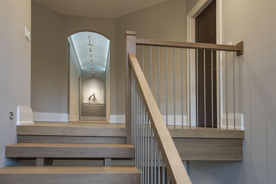 326-Country - Stairs, Second Floor Hallway View - Globex Developments Custom Homes