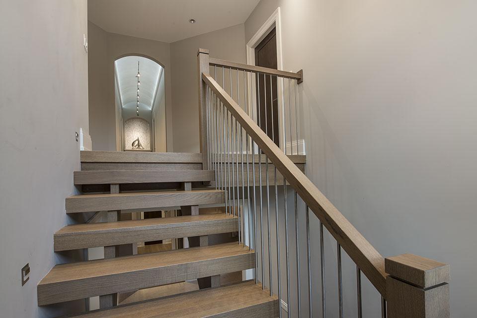 326-Country - Stairs - Globex Developments Custom Homes