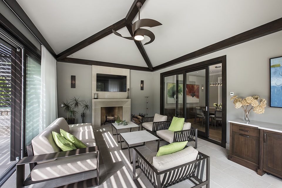 326-Country - Sunroom - Globex Developments Custom Homes