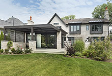 326-Country - Back Elevation - Globex Developments Custom Homes