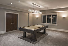 326-Country - Basement, Billiard Table - Globex Developments Custom Homes