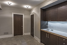 326-Country - Basement, Cabinets, Modern Interior Doors - Globex Developments Custom Homes