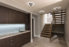326-Country - Basement, Cabinets, Stairs - Globex Developments Custom Homes