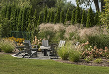 326-Country - Fire Pit Backyard - Globex Developments Custom Homes