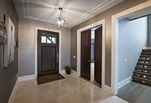 326-Country - Front Door, Office Double Door, Foyer - Globex Developments Custom Homes