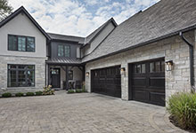 326-Country - House Front, Garage Doors - Globex Developments Custom Homes