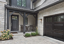 326-Country - House Front Entrance, Entry Door, Garage Door - Globex Developments Custom Homes