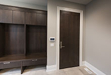 326-Country - Mudroom, Modern Single Interior Door - Globex Developments Custom Homes