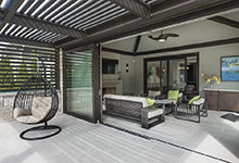 326-Country - Pergola, Sunroom Open - Globex Developments Custom Homes