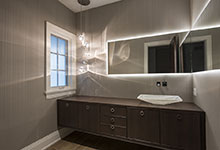 326-Country - Powder Room - Globex Developments Custom Homes