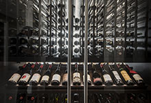 326-Country - Custom Refrigerated Wine Cabinet  - Globex Developments Custom Homes