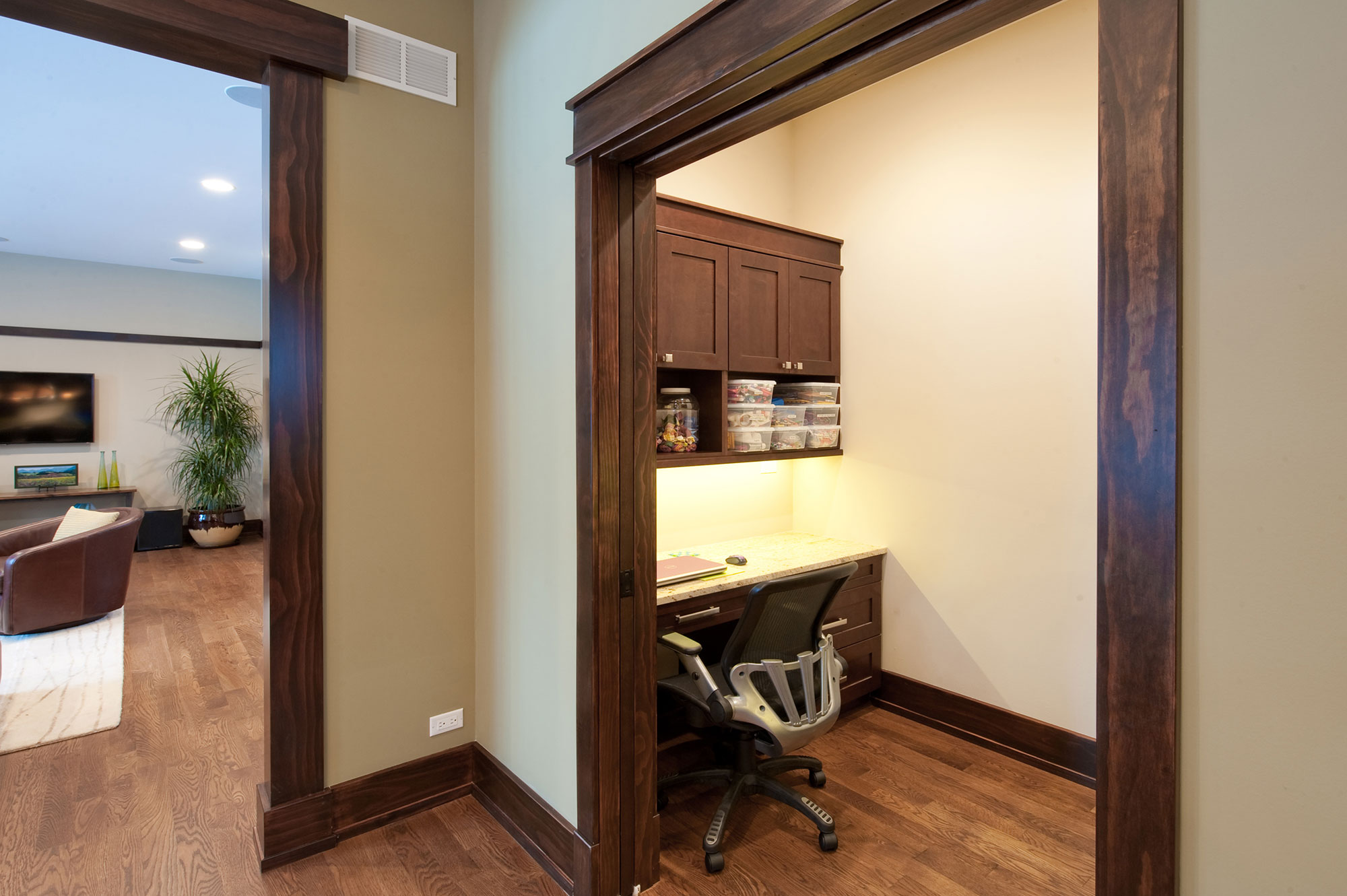 Side-Office-Entry | New Custom Homes | Globex Developments, Inc ...