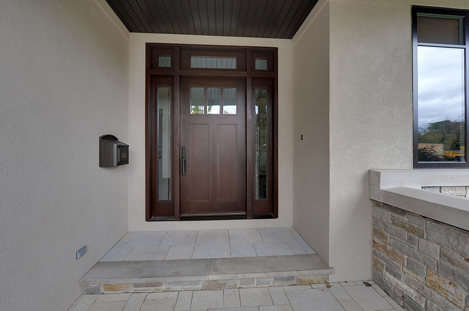 803-Solar-Glenview - Door-Exterior - Globex Developments Custom Homes