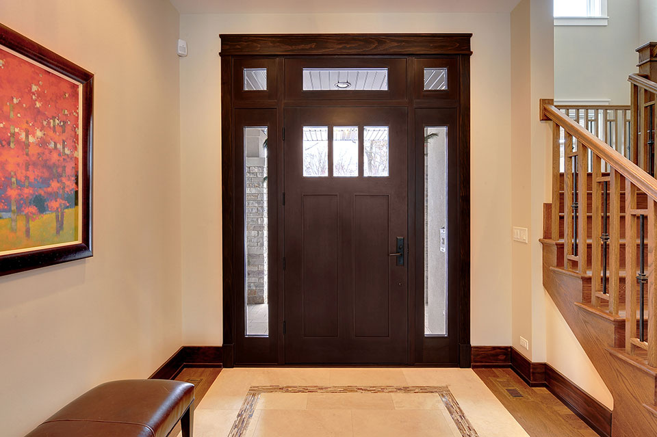 803-Solar-Glenview - Entry-Door-Interior - Globex Developments Custom Homes