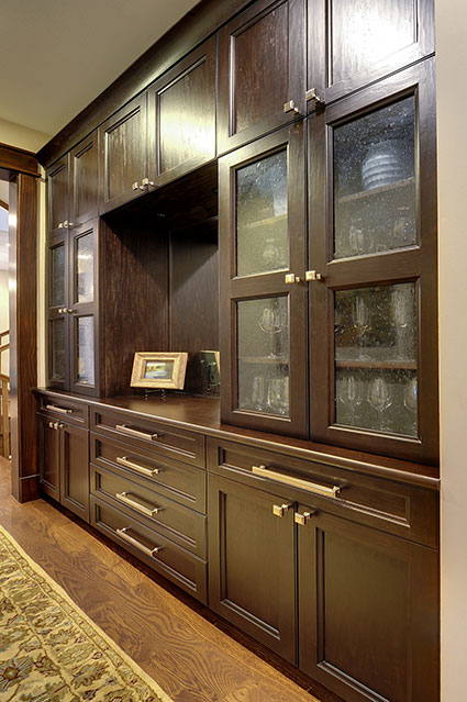 803-Solar-Glenview - Hallway-Cabinet - Globex Developments Custom Homes