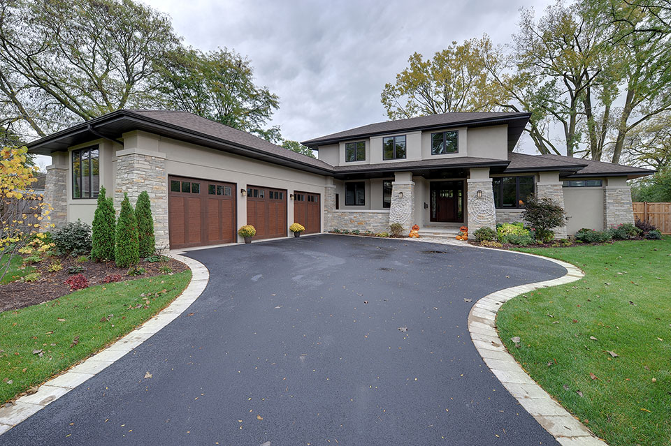 803-Solar-Glenview - House-Elevation - Garage Door Gallery