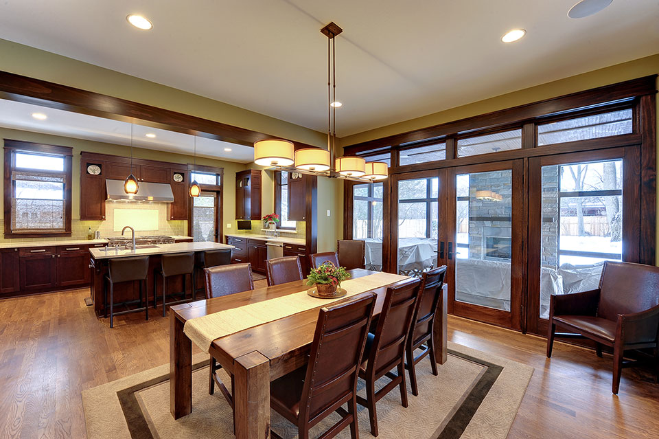 803-Solar-Glenview - Kitchen-Dining-Area - Globex Developments Custom Homes