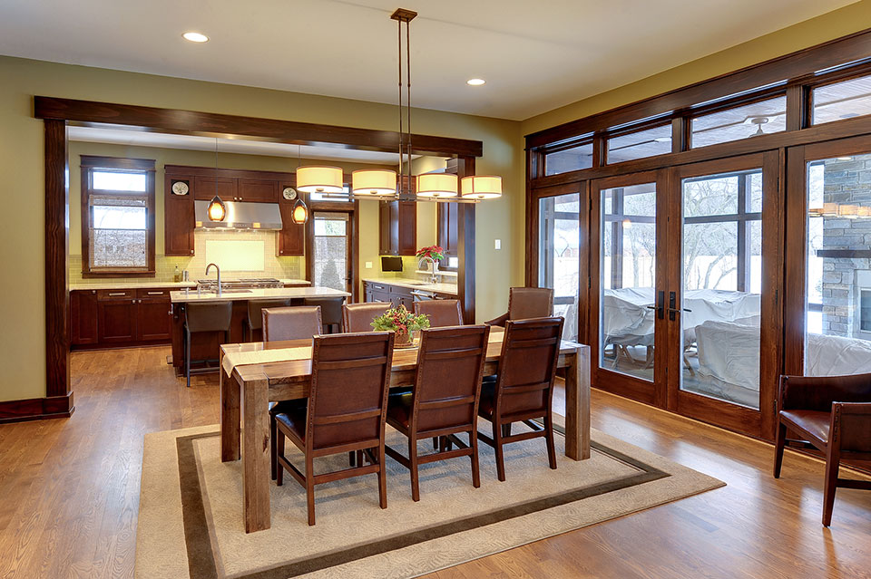 803-Solar-Glenview - Kitchen-Dining-Room - Globex Developments Custom Homes