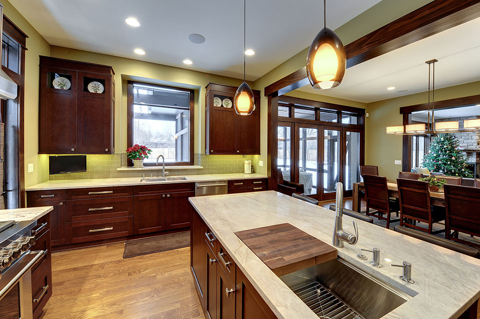 803-Solar-Glenview - Kitchen-Island - Globex Developments Custom Homes