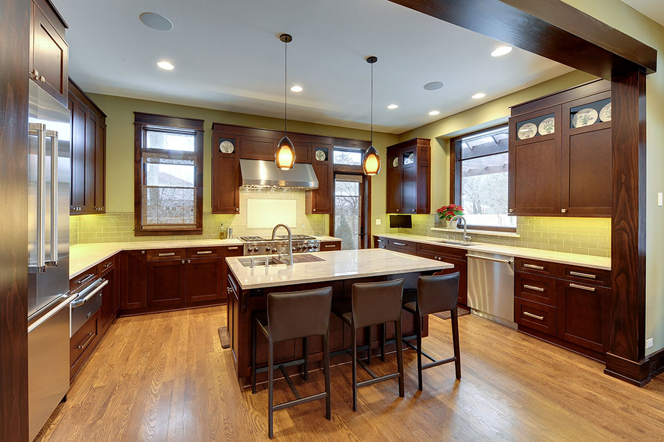 803-Solar-Glenview - Kitchen - Globex Developments Custom Homes