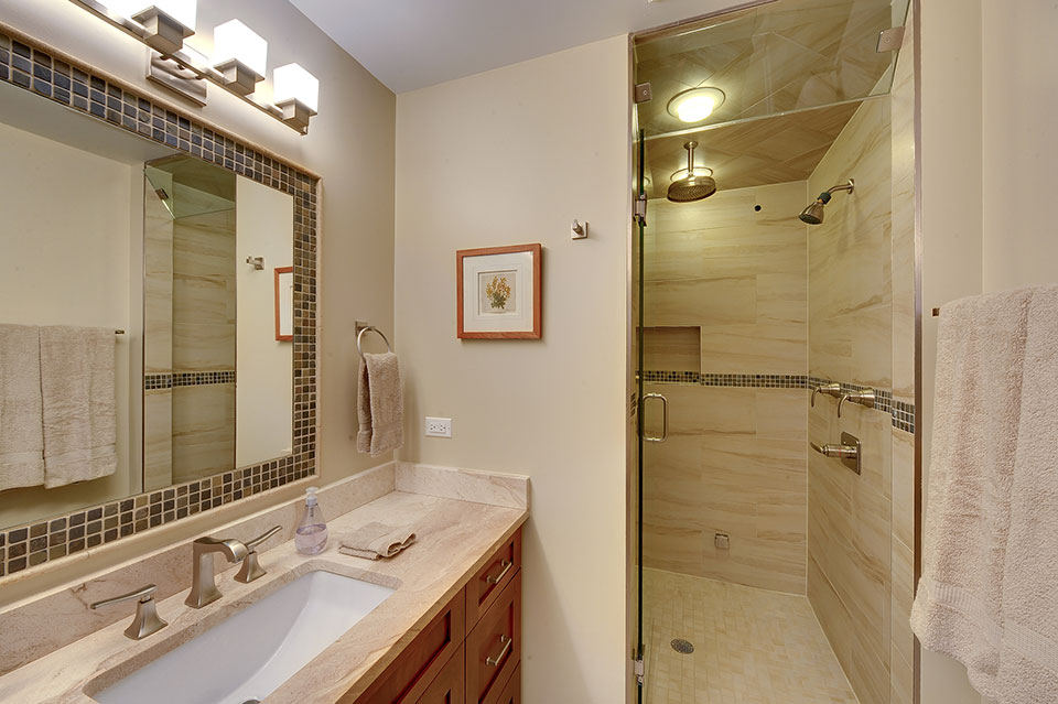 803-Solar-Glenview - Master-Bathroom-Shower-Entry - Globex Developments Custom Homes