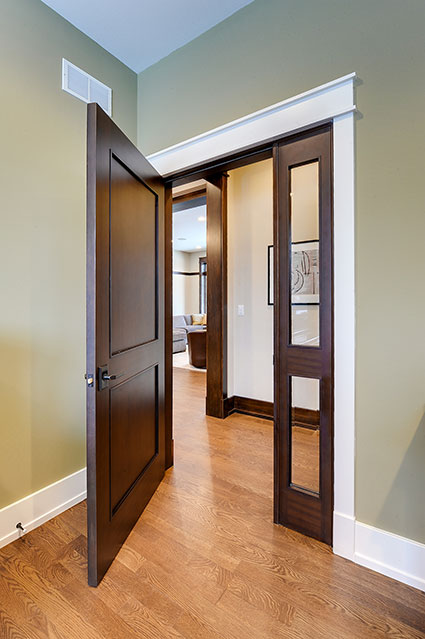 803-Solar-Glenview - Office-Door-Open - Globex Developments Custom Homes