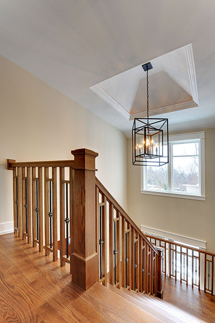 803-Solar-Glenview - Staircase-Top - Globex Developments Custom Homes