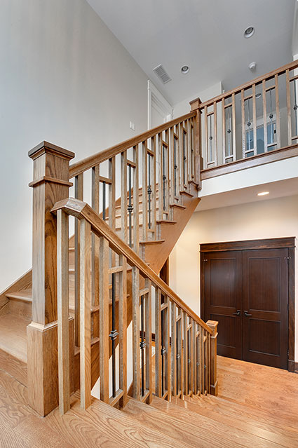 803-Solar-Glenview - Stairs - Globex Developments Custom Homes