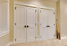 803-Solar-Glenview - Basement-Closet-Doors - Globex Developments Custom Homes