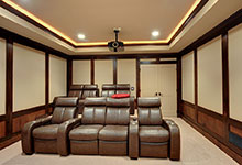 803-Solar-Glenview - Basement-Media-Room-Chairs - Globex Developments Custom Homes