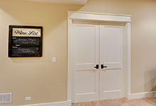 803-Solar-Glenview - Basement-Media-Room-Doors - Globex Developments Custom Homes