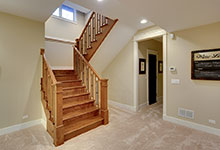 803-Solar-Glenview - Basement-Staircase - Globex Developments Custom Homes