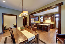 803-Solar-Glenview - Dining-Room - Globex Developments Custom Homes