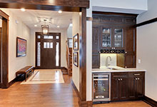 803-Solar-Glenview - Entryway - Globex Developments Custom Homes