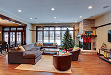 803-Solar-Glenview - Family-Room-Entry - Globex Developments Custom Homes