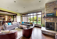 803-Solar-Glenview - FamilyRoom-Entry - Globex Developments Custom Homes